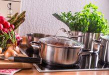 Kochen mit Kochtopfset