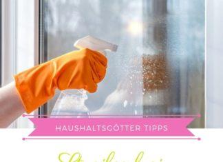 Fenster putzen streifenfrei