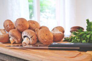 Pilze zubereiten und Pilze einfrieren