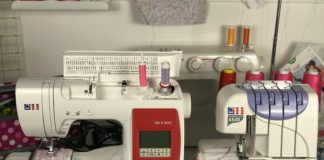 Nähmaschine und Overlock
