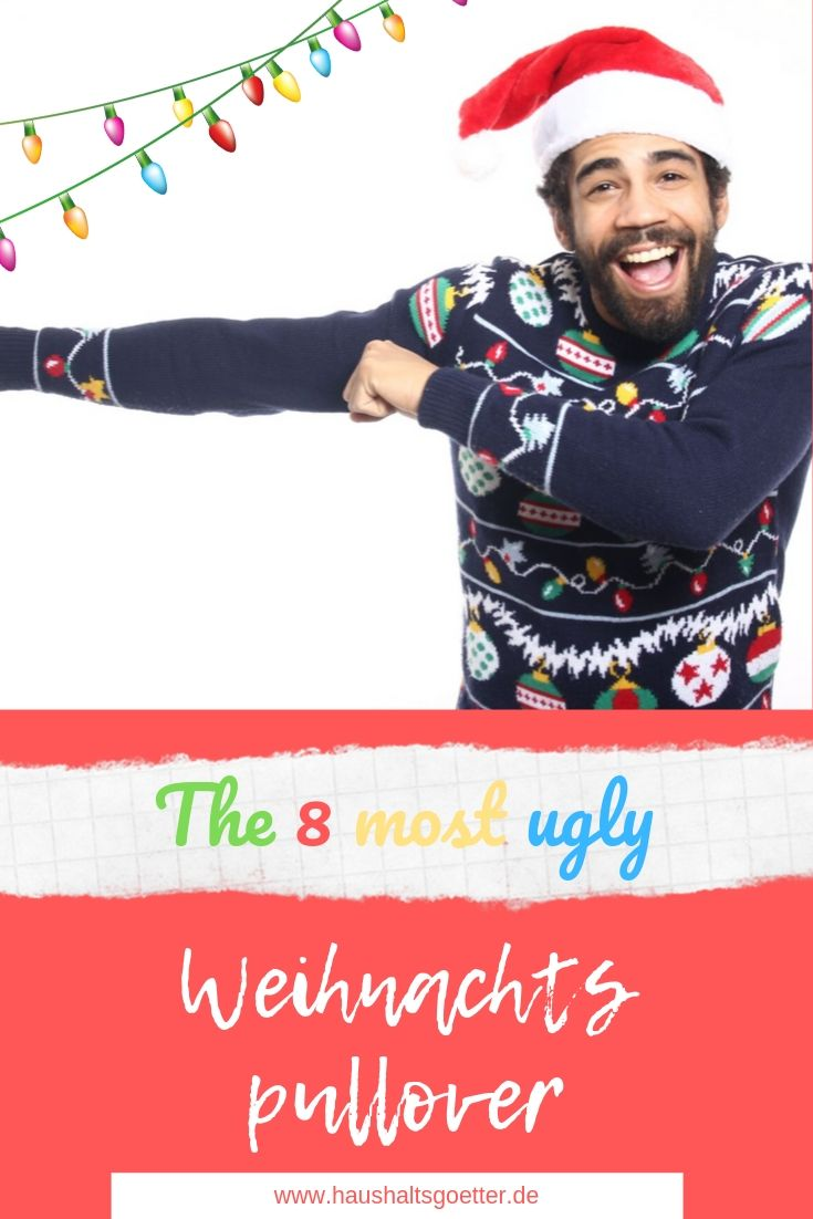 8 very ugly weihnachtspullover